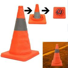 Portable  Up Safety Traffic Cone Collapsible Driving Safety Essential Q