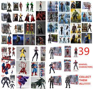SHF Figuarts ARTFX AMAZING KAIYODO MAFEX Marvel Avengers Action Figures Toy Gift