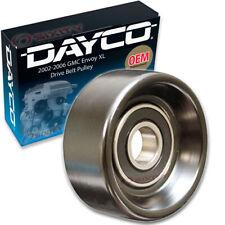 Dayco Drive Belt Pulley for 2002-2006 GMC Envoy XL 4.2L L6 - Tensioner ca