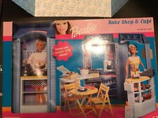 Barbie Bake Shop And Cafe Play Set - Very Collectible!