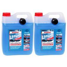2x5 Liter SONAX Scheibenwisch Wasser Anti Frost Klar Sicht GEBRAUCHSFERTIG -20°C