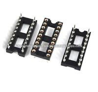 20PCS  Gold Plated 18 Pin DIP SIP Round IC Sockets Adaptor Solder Type CF