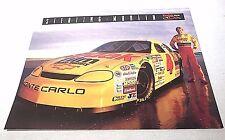 """1996 Sterling Marlin Kodak #4 NASCAR HERO PROFILE 8"""" X 10"""" STAT CARD"""