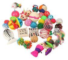 20 Pc Toys Cat Lot Bulk Mice Balls Catnip Kitty Kitten Play Toy Free Shipping