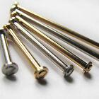 2 x WATCH STRAP SCREW BAR/LUG 1.5mm Diameter Steel or Gold Plate Sizes 10 - 30mm