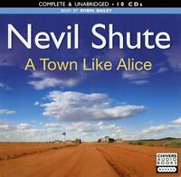 A Town Like Alice: by Nevil Shute - Unabridged Audiobook - 10CDs