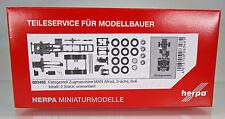 Herpa 083485  Zugmaschinen-Fahrgestell MAN 3-achs Allrad Inhalt: 2 Stück