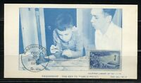 UNITED STATES 1956 FRIENDSHIP  MAXIMUM CARD FIRST DAY CANCELLED