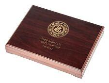 Lunar Serie I Münzbox / Box / Münzenbox / Münzkassette für 12x 1 Oz Gold - HOLZ
