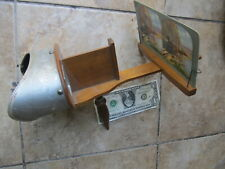 Beautiful Antique Victorian 3-D Stereo Photo Viewer Stereoptican, c1875 w/Cards
