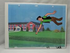 The Archies Original Production Animation Cel & Background Of Jughead Jones #1