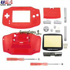 New Housing Shell Parts for Nintendo Gameboy Advance GBA Repari Solid Red