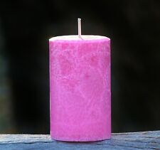 MASSIVE 400hr 1.7kg PINK LYCHEE Fruit Scented Natural HUGE LANTERN ECO CANDLE