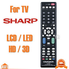 TV Remote control for SHARP. No need setting. Quality universal compatible list