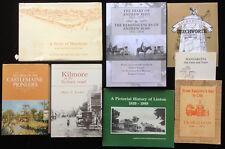 Victoria Regional History Books Linton Wangaratta Traralgon Horsham Castlemaine