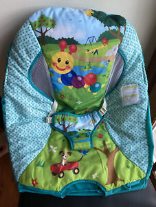 Baby Einstein Caterpillar's Day At The Park Bouncer Seat Cover Replacement Part