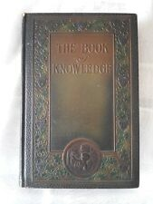 VINTAGE. BOOK OF KNOWLEDGE 1923 Complete Set of 20 The Grolier Society.Leather
