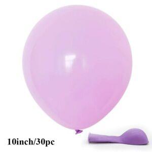 30 Pcs 10'' Macaron Latex Balloons Baby Shower Birthday Wedding Party Decoration