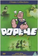 Popeye The Sailor Classic Childrens Cartoon Volume 3 DVD Original Cartoon Capers