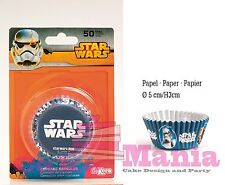 50 PIROTTINI STAR WARS DARTH VADEN DISNEY CUPCAKE MUFFIN IN CARTA DA FORNO  CAKE