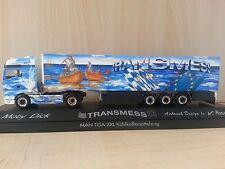 "MAN TGA XXL 5 Star Kühlkoffer-Sattelzug ""Transmess / Moby Dick"""