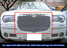 For 2005-2010 Chrysler 300/300C Stainless Steel Mesh Grille Grill Inserts