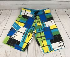 Maui And Sons Boardshorts Men's Size 30 NWT Color Block Bright B