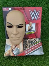 Rare, WWE The Rock Dressing Up Costume - Age 3-4 With Mask, Brand New,