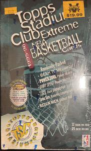 1995-96 Topps Stadium Club Extreme FACTORY SEALED Box Series 2 Beam Team, WOW!!!