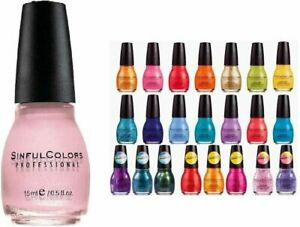 SINFUL COLORS - Professional Nail Polish LOT OF 10 Suprise pack free shipping