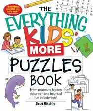 Kids' More Puzzles Book : From Mazes to Hidden Pictures - And Hours of Fun in...