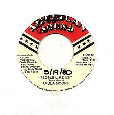 Paula Moore 45 People Like Us - Femme Folk Rock - HEAR