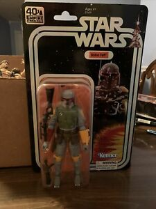 """Boba Fett 2019 40th Anniversary 6"""" The Black Series STAR WARS SDCC Exclusive"""