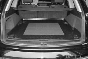 Audi Q7 MK I no rails LDPE boot tray or rubber load liner mat bumper protector