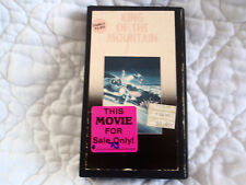 KING OF THE MOUNTAIN VHS HARRY HAMLIN DENNIS HOPPER CAR RACING ACTION PORSCHE