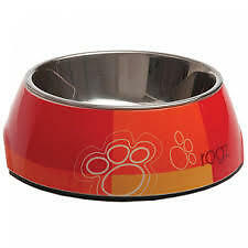 Rogz Dog Bubble Bowls Medium-Tango Paws