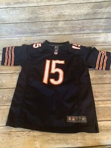 CHICAGO BEARS #15 BRANDON MARSHAL NFL NIKE On Field Jersey Youth Large
