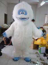 Halloween Snowman Mascot Costume Fancy Dress Free Ship+EMS Ship