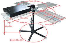 "4 Platform Flash Dryer Silk Screen Printing Heating Equipment Cure 16""x 16"" Area"