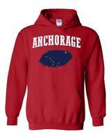 Anchorage Alaska Unisex Hoodie Hooded Sweatshirt