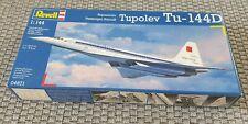 Revell Flugzeug Modellbausatz - Tupolev TU-144D