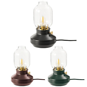 New Ikea TÄRNABY Dimmable Table Desk Lamp Battery Operated Dark Green Red Black