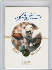 Ricky Williams 1999 Just Minors Rookie Signature Autograph AUTO RC #/200 *TEXAS*
