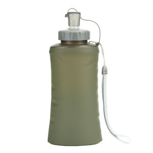 Armee Wasserflasche Faltbar Water Bottle foldable Camping Outdoor Survival 0,6L