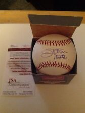 Jim Palmer HOF Baltimore Orioles Autographed ROML Baseball JSA Authenticated