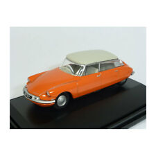 Oxford oxf76cds002 CITROEN DS19 naranja oscuro/Gris Claro Escala 1:76 (193279)