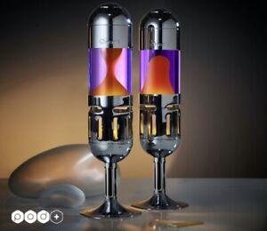 Mathmos Pod + violet/orange