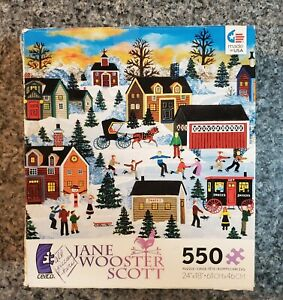 """Jane Wooster Scott """"Nippy But Nice"""" 550 piece puzzle COMPLETE"""