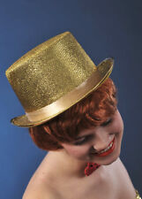 Adult 20s Showgirl Gold Top Hat