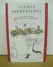 Secret Ingredients The New Yorker Book of Food & Drink 2007 HB/DJ